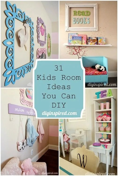 31 Kids Room Ideas You Can DIY  DIY Inspired
