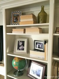 Bookshelf Dcor Ideas - DIY Inspired