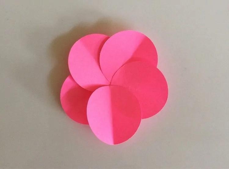 Easy DIY Paper Flowers Tutorial DIY Inspired