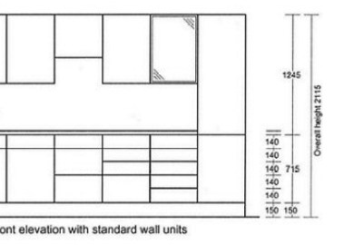 Kitchen Cabinet Dimensions Standard Cabinet Dimensions