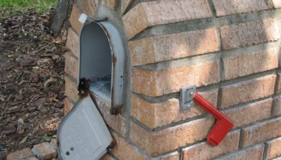 How to Replace a Mailbox in a Brick Enclosure - DIY Mailboxes