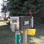 microwave mailbox ideas