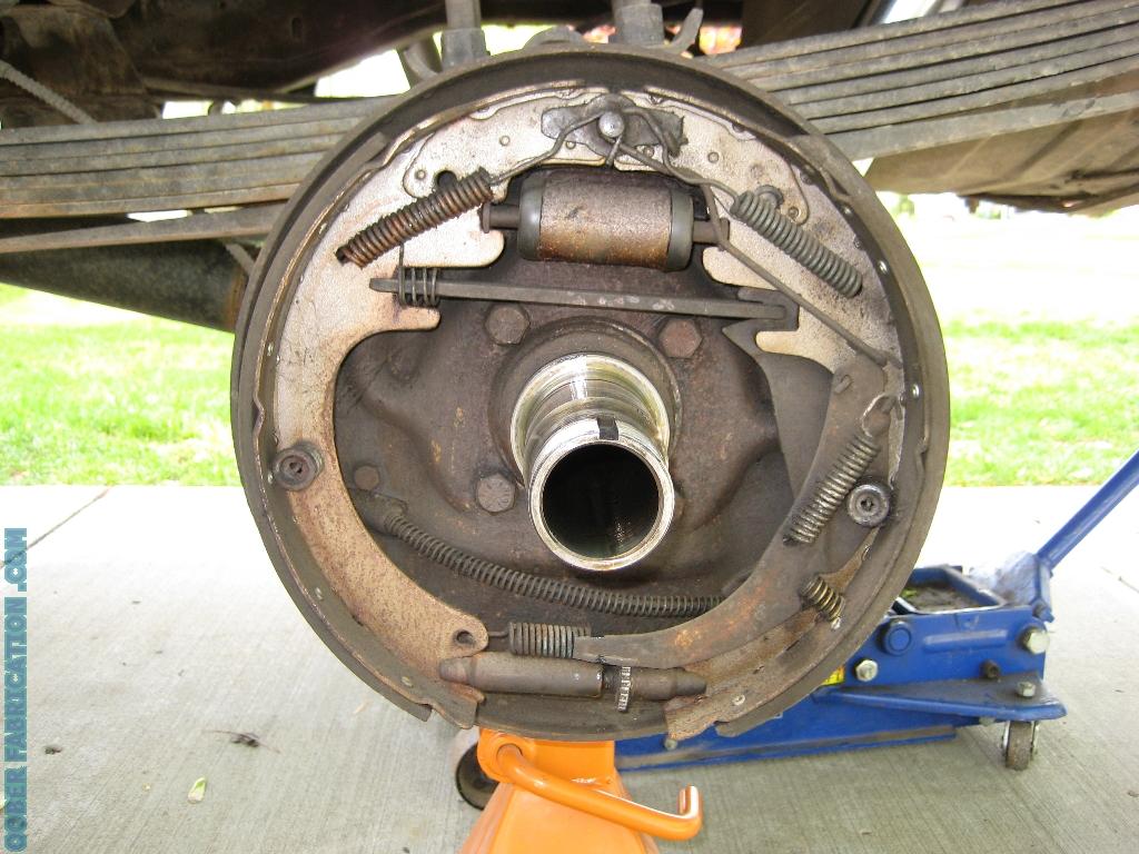 chevy drum brakes diagram 98 ford f150 starter wiring disc brake conversion for 14 bolt trucks autos post