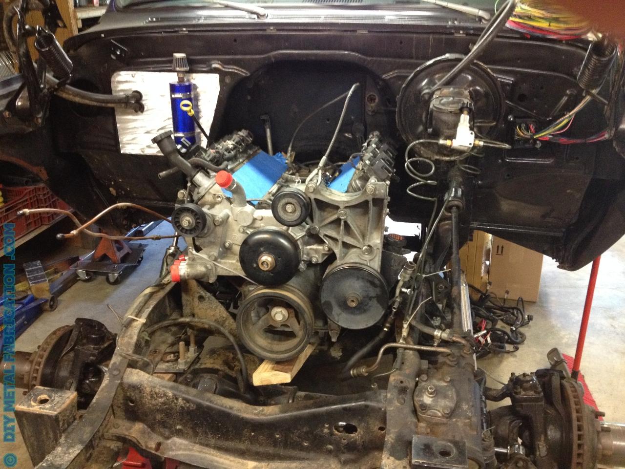 Diy Ls1 Wiring Harness 5 3 Ls Engine Swap Into Ol Blue 1971 Chevy Truck Part 2