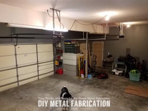 small resolution of diy how to install led garage lighting diy metal fabrication com wiring led garage lights wiring led garage lights