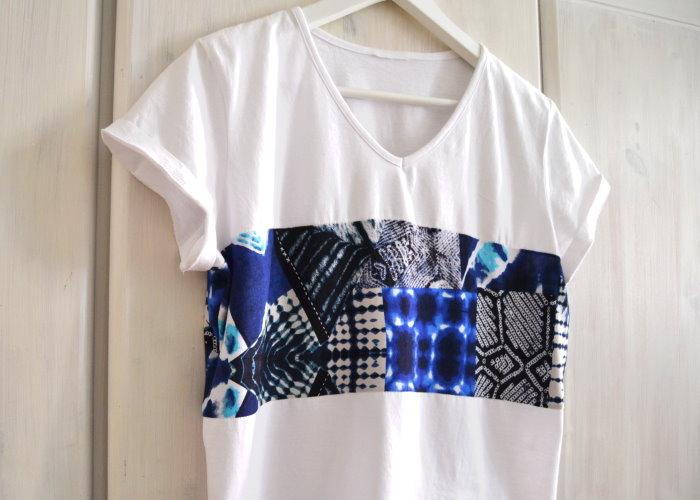 Bekannt DIY ♥ T-Shirt Nähen für Anfänger Upcycling Oberteil Crop Top FE13