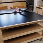 Outfeed Table Workbench Mobile Leveling Diy Montreal