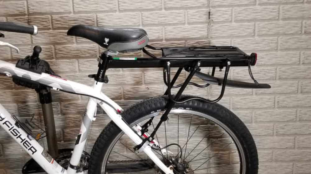 how to install a rear cargo rack on a