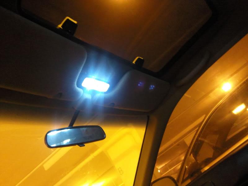 1996 Honda Fuel Filter Led Dome Light In Ek Hatchback Honda Civic Diy