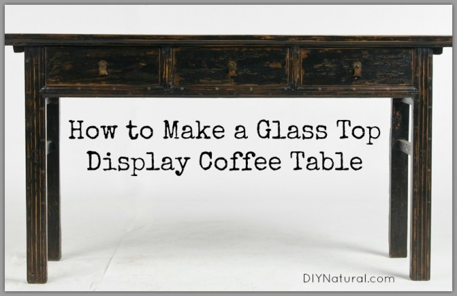 how to make a sofa table top cheap loveseat diy coffee display ideas for gifts and home
