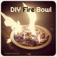 DIY Fire Bowl: Make A Fire Bowl for Ambiance and to Keep ...
