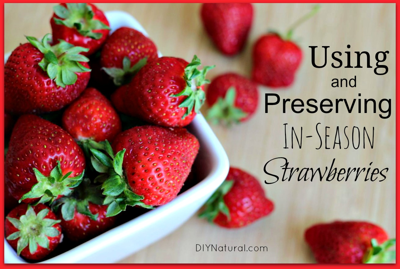 Fresh Strawberry Recipes And Other Ways To Use And