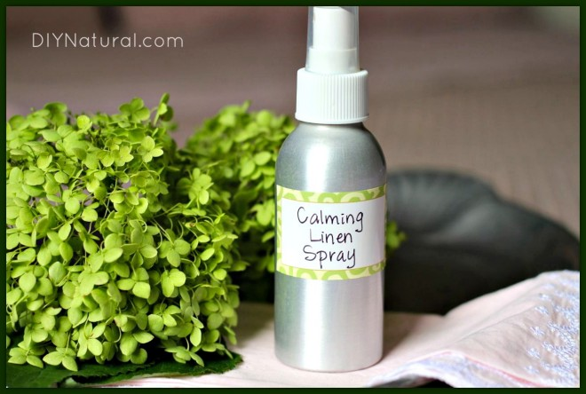 Homemade Linen Spray and Aromatherapy Recipe