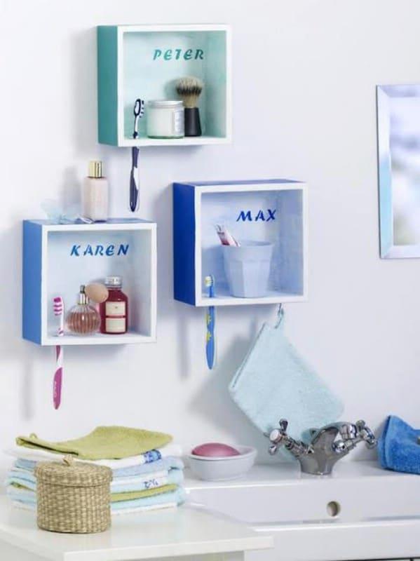 30 brilliant bathroom organization and storage diy solutions - diy