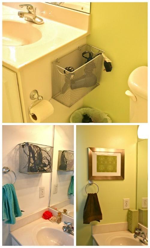 Diy Bathroom Organization