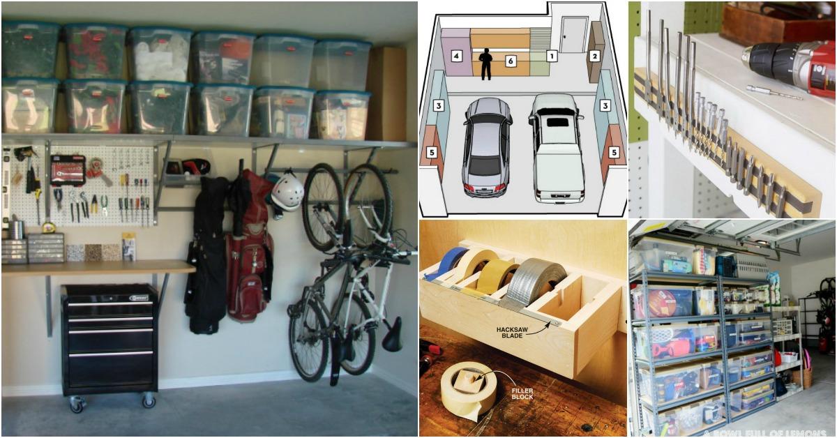 49 Brilliant Garage Organization Tips Ideas and DIY Projects  DIY  Crafts