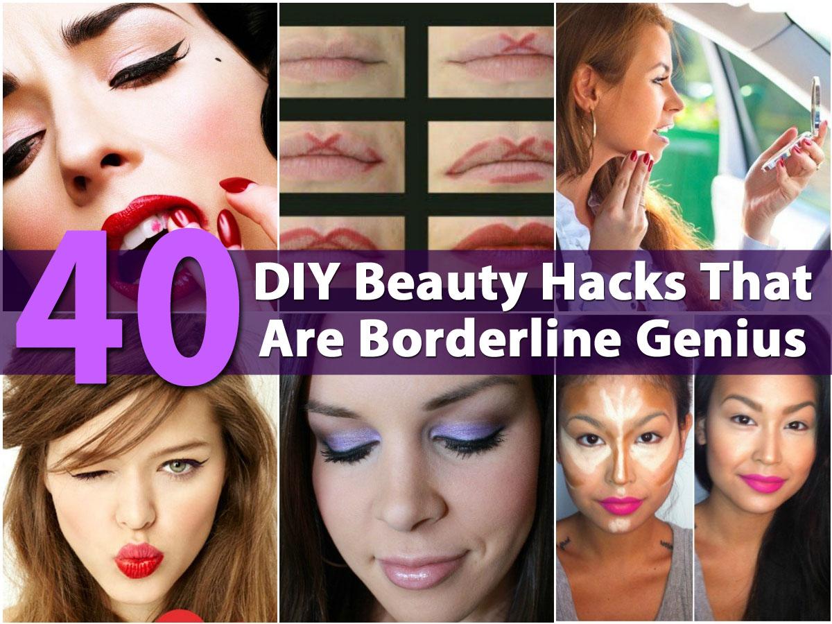 40 DIY Beauty Hacks That Are Borderline Genius DIY  Crafts