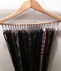 20 Creative Ways to Organize and Decorate with Hangers ...