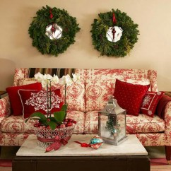 Ideas For Decorating Your Living Room Christmas Dulux Paint Colours India 30 Stunning Ways To Decorate Diy Source Megahomedesign Hang Wreaths This