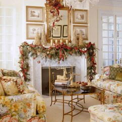 How To Decorate The Living Room Furniture Set Under 500 30 Stunning Ways Your For Christmas Diy Source Freshome Pine Garland This