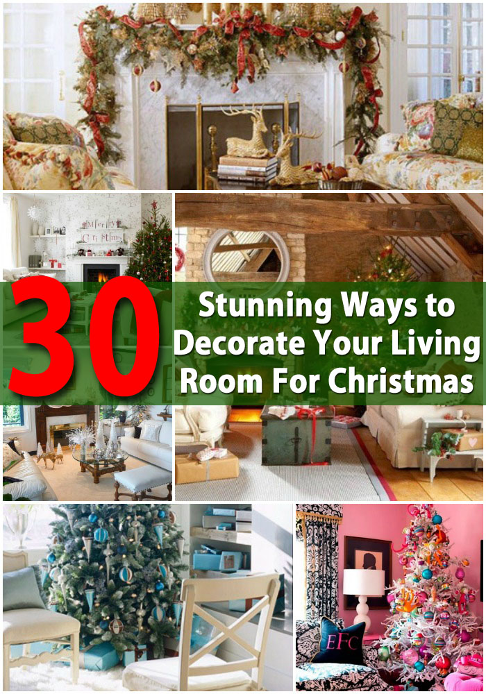 christmas decoration ideas for small living room footstools 30 stunning ways to decorate your diy cutest decorating