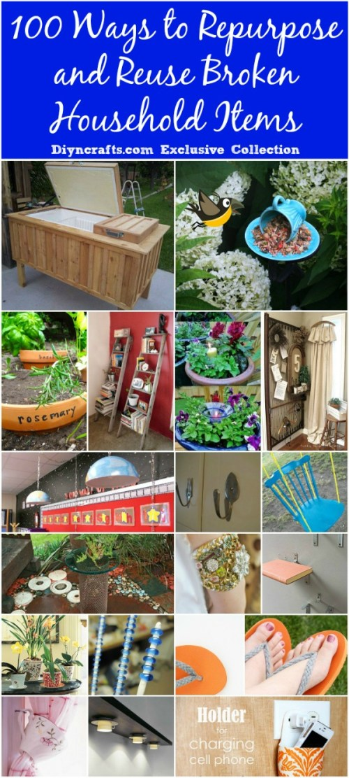 small resolution of 100 ways to repurpose and reuse broken household items