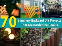Summery Backyard Diy Projects Borderline