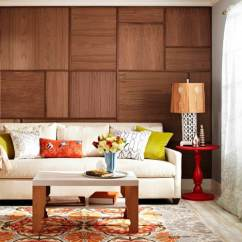 Wood Wall Living Room Small Open And Kitchen Ideas 15 Creatively Genius Diy Walls Crafts Grain