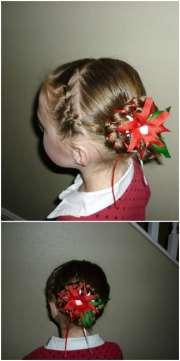 super cute diy christmas hairstyles