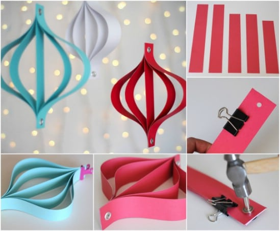 Do it yourself christmas paper decorations psoriasisguru christmas decorations to make yourself with paper craftionary solutioingenieria Image collections
