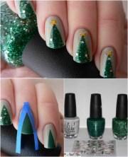 fantastic diy christmas nail