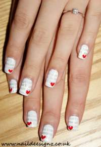 20 Ridiculously Cute Valentines Day Nail Art Designs ...
