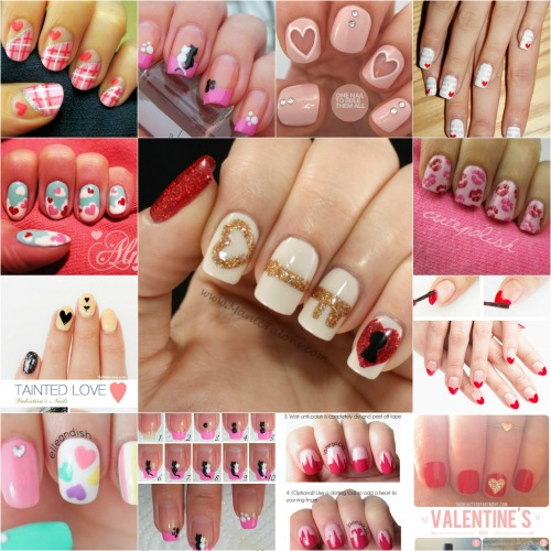 21 Crazy Cute Valentine S Day Nail Art Ideas Via Make It And