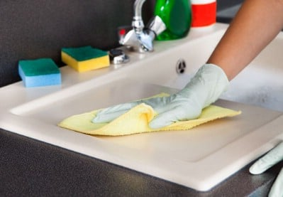 Disinfect your dishrags and sponges - 51 Extraordinary Everyday Uses for Hydrogen Peroxide