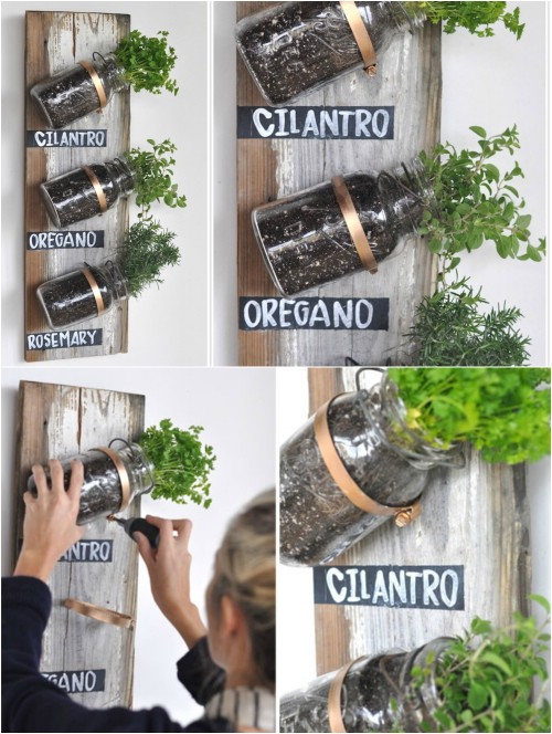 18 Brilliant And Creative DIY Herb Gardens For Indoors And