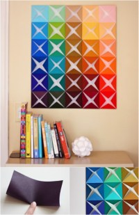 26 Easy and Gorgeous DIY Wall Art Projects that Absolutely ...
