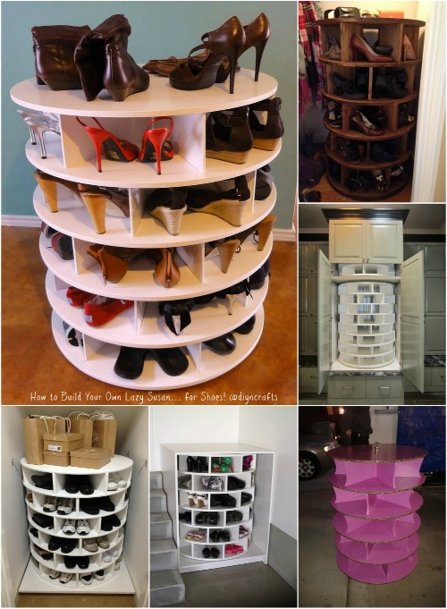 Tall White Shoe Rack