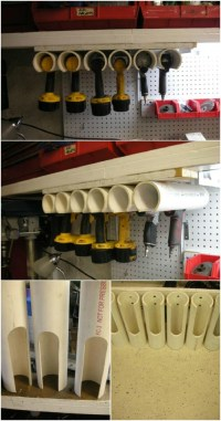 25 Life-Changing PVC Pipe Organizing and Storage Projects ...
