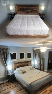 21 DIY Bed Frame Projects  Sleep in Style and Comfort ...