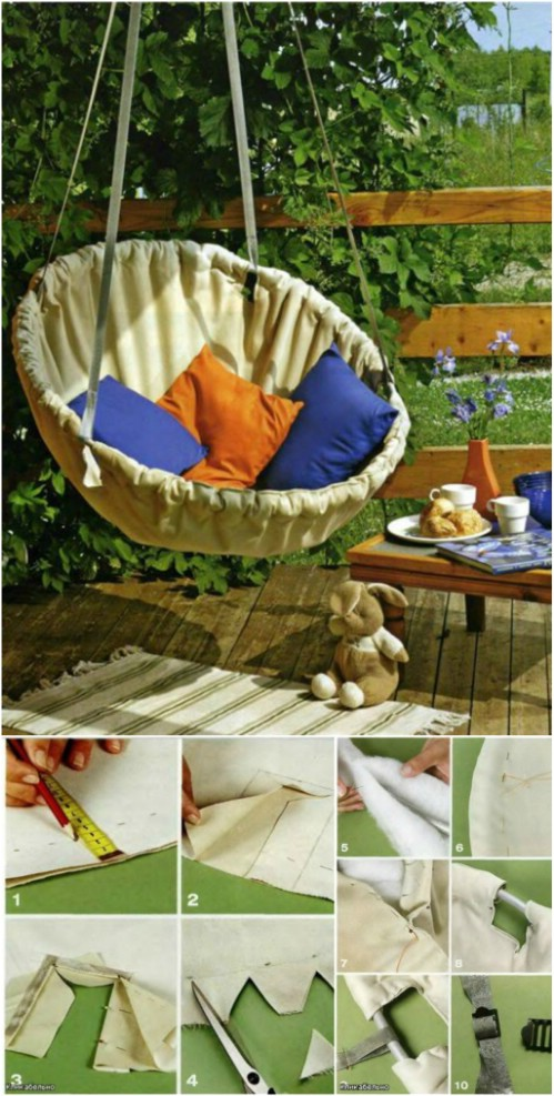 hammock chair instructions covers and tablecloth rentals stretch your legs get comfy: 10 easy diy hammocks for you to enjoy this summer - & crafts
