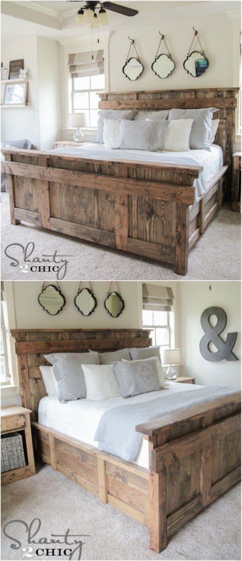 Every item on this page was curated by an elle decor editor. 21 DIY Bed Frame Projects – Sleep in Style and Comfort