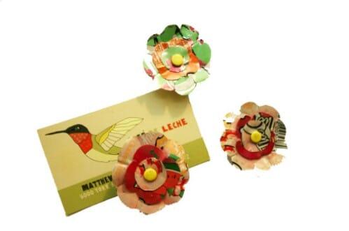 Soda Flower Magnets