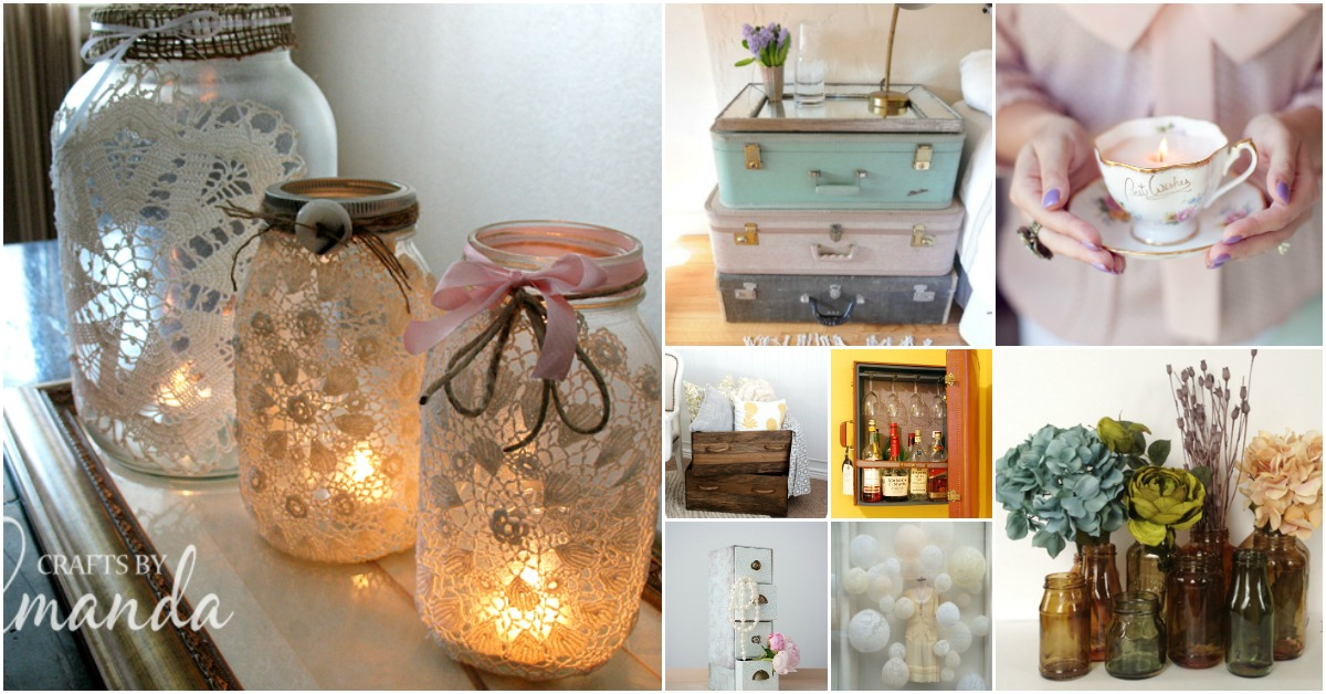 30 Charming Vintage DIY Projects for Timeless and Classic Decor  DIY  Crafts