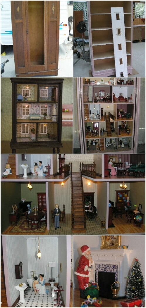 5 Adorable Ways to Repurpose Old Dressers Into Dollhouses  DIY  Crafts