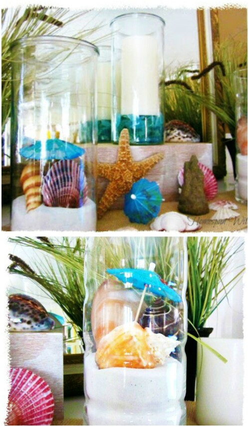 DIY Beach Jars