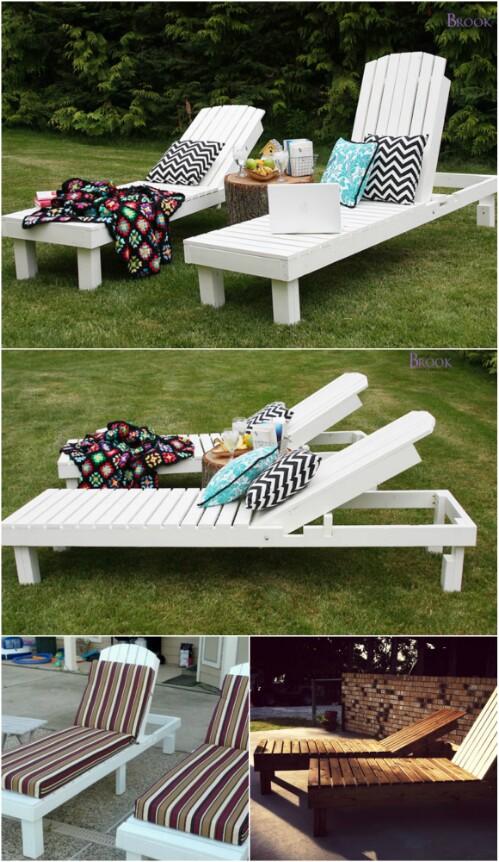 5 Elegant Sunbathing Loungers You Can DIY  FREE Plans