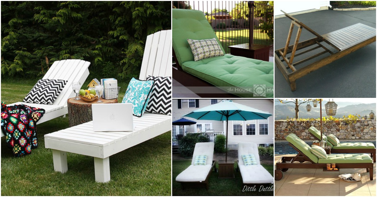 cheap sun lounge chairs most comfortable desk chair ever 5 elegant sunbathing loungers you can diy - free plans & crafts