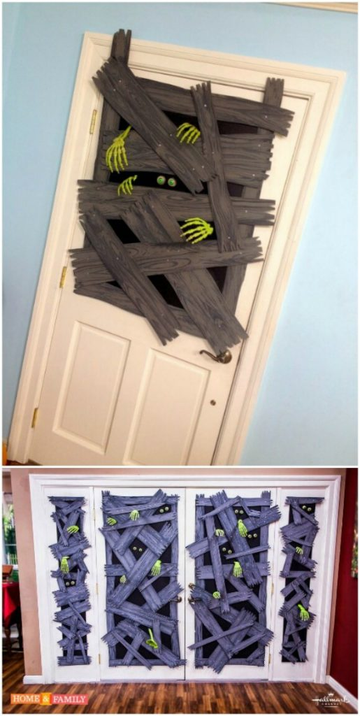 15 DIY Halloween Door Decor Ideas  Style Motivation