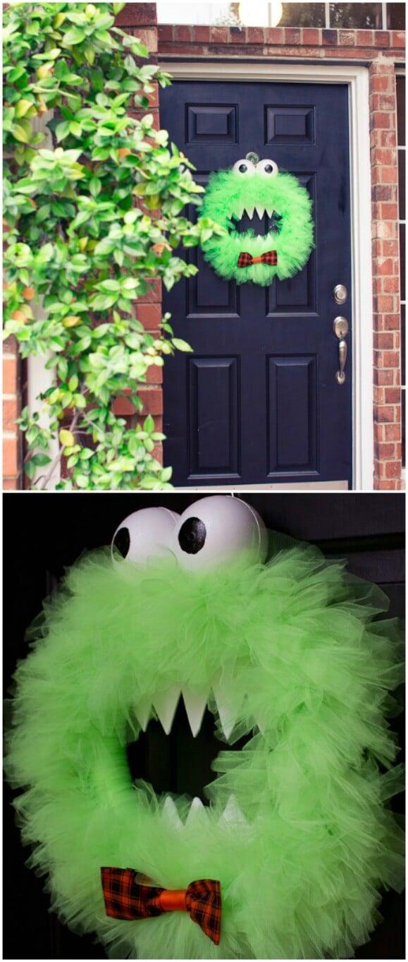 15 DIY Halloween Door Decor Ideas  Style Motivation