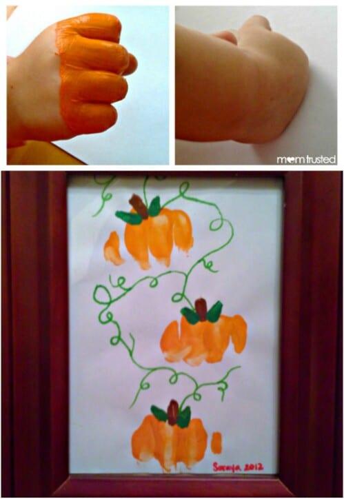 Witch Pumpkin Decorating